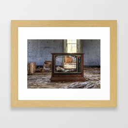 Nothing on Tv... Framed Art Print