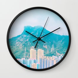 Under the Lion Rock Wall Clock