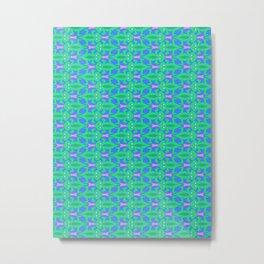 Patterns: Lizards Metal Print