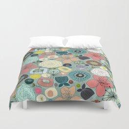 oriental blooms Duvet Cover