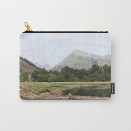 Here is realization - Glen Etive, Scotland Carry-All Pouch