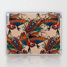 rooster ink beige Laptop & iPad Skin