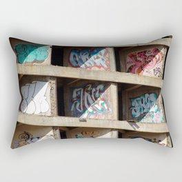 Cocrete Graffiti Rectangular Pillow