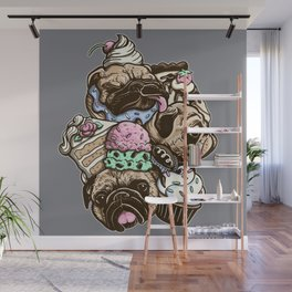 Dogs & Desserts Wall Mural