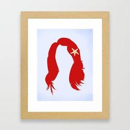 Ariel's Hair Framed Art Print