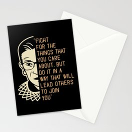 Ruth Bader Ginsburg Saying Fight For The Stationery Cards