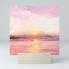 Summer Sunset I Mini Art Print