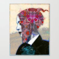 alt j Canvas Prints featuring Dream Alt by Steve W Schwartz Art