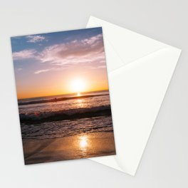 Sunset Surfers IV Stationery Cards