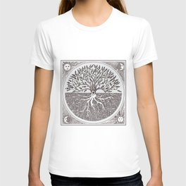 Tree of Life as above so below T-shirt