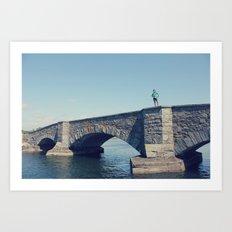 bridges Art Print