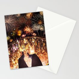 celebrating the new year Stationery Cards