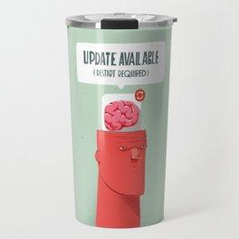 Update your Brain Travel Mug