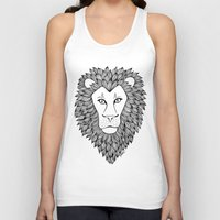 leo Tank Tops featuring Leo by Julie Erin Designs