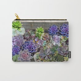 South Africa's Succulents Carry-All Pouch
