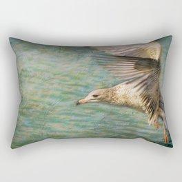 Seagull Flutter Rectangular Pillow