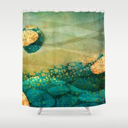 Take me to Another World... Shower Curtain