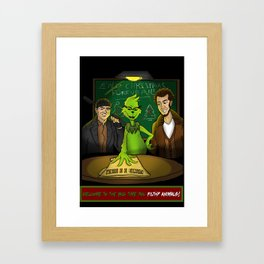 Welcome to the Big Time... YOU FILTHY ANIMALS! Framed Art Print