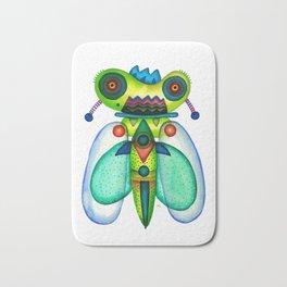 Dragonfly Moth Bath Mat