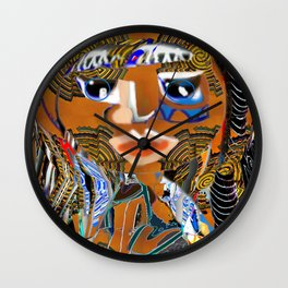 Proudly Back 115 Wall Clock