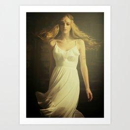 Dancing Girl Art Print
