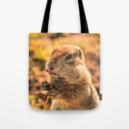 I wasn't going to eat it, I was just going to taste it Tote Bag