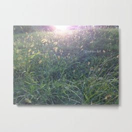 Light path Metal Print