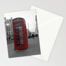 Red Phone Box Stationery Cards