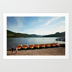 Bavarian Lake Art Print
