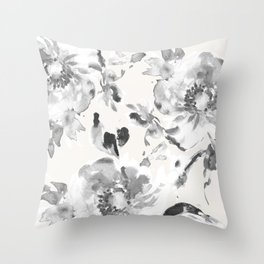 Floral Pillow Throw Pillow