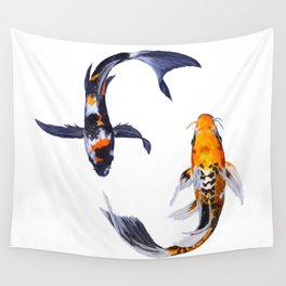 Butterfly Koi Wall Tapestry