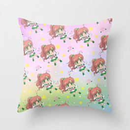 Sailor Jupiter Pattern Throw Pillow