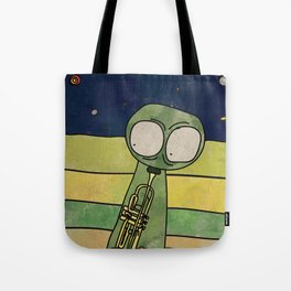 Filiberiddo from Jupiter (Trumpet) Tote Bag