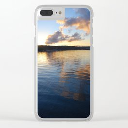 Arriving at Bainbridge Island Clear iPhone Case