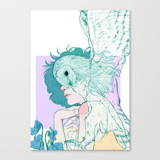 Harwood // Barn Owl Canvas Print