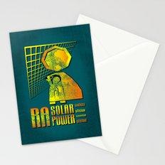 Ra Solar Power Stationery Cards
