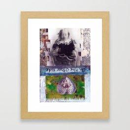 On the otherside Framed Art Print