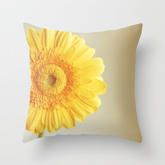 Sunshine and lollipops Throw Pillow