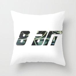8 Bit Throw Pillow