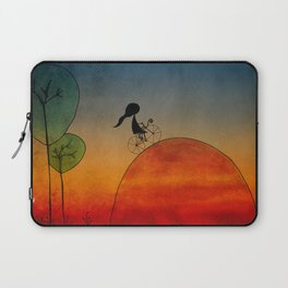 Into the sunset Laptop Sleeve
