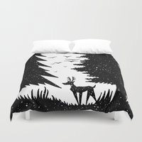 woodland Duvet Covers featuring Woodland by Philip McCulloch-Downs