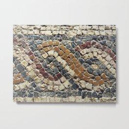 Roman mosaic Metal Print