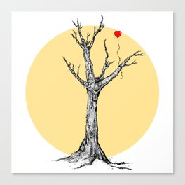 Love is an investment.  Canvas Print