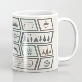 Camping [Color] Coffee Mug