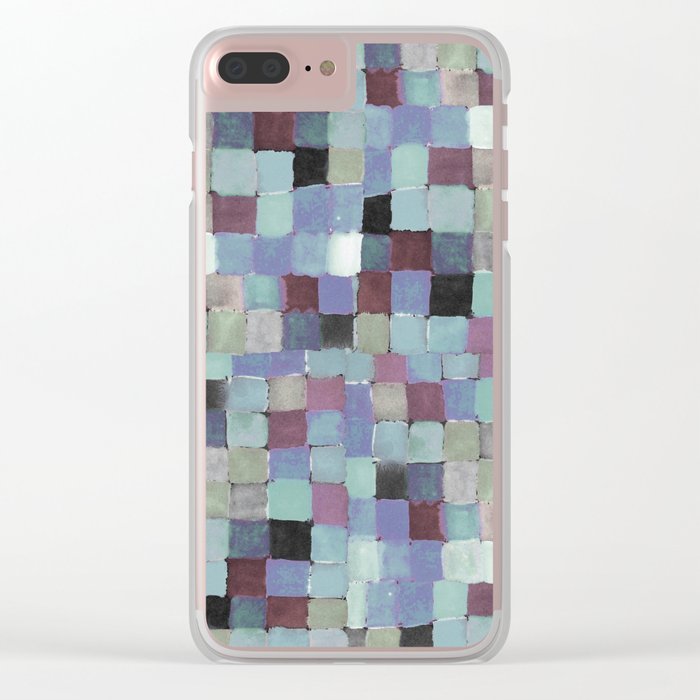Shades of mood Clear iPhone Case