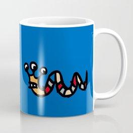 chalkboard wallies colorful pop art Coffee Mug