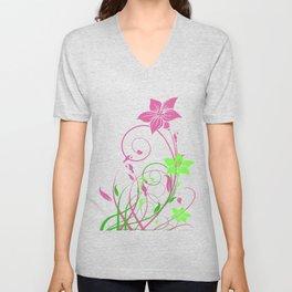 Spring's flowers Unisex V-Neck