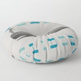 Whales Slider Floor Pillow