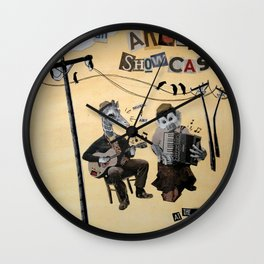 Jammin' Animals Wall Clock