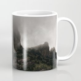 Foggy Chisos Mountaintop, Big Bend - Landscape Photography Coffee Mug